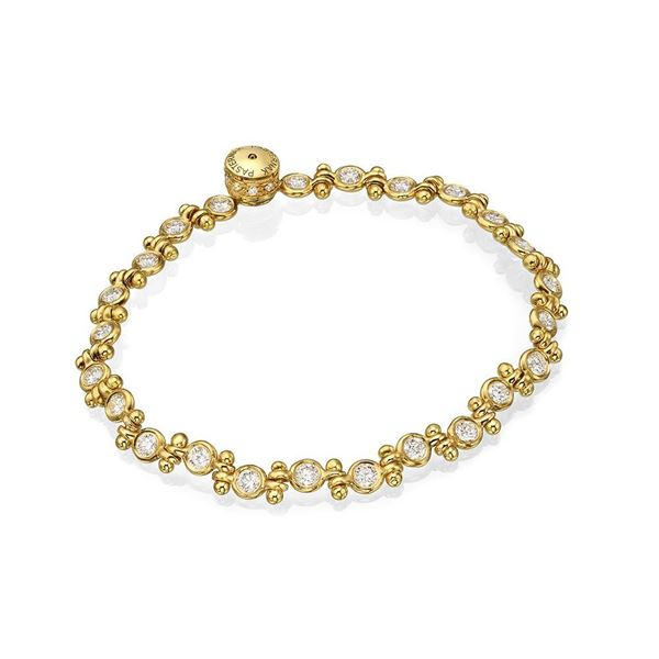 Pasternak Martine Yellow Gold Bracelet special design from the