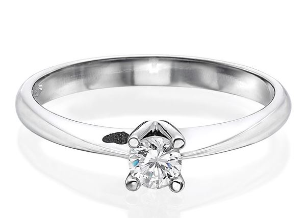 four Prong Engagement Ring 0.30ct