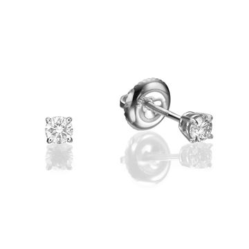 Изображение Screw Back Stud Earrings 0.5 ct tw