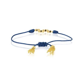 Picture of Cotton Yellow Gold Bracelet