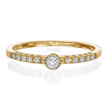 Изображение Diamond Engagement Ring 0.14ctw