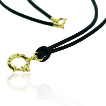 Изображение Necklace for man nappa lether