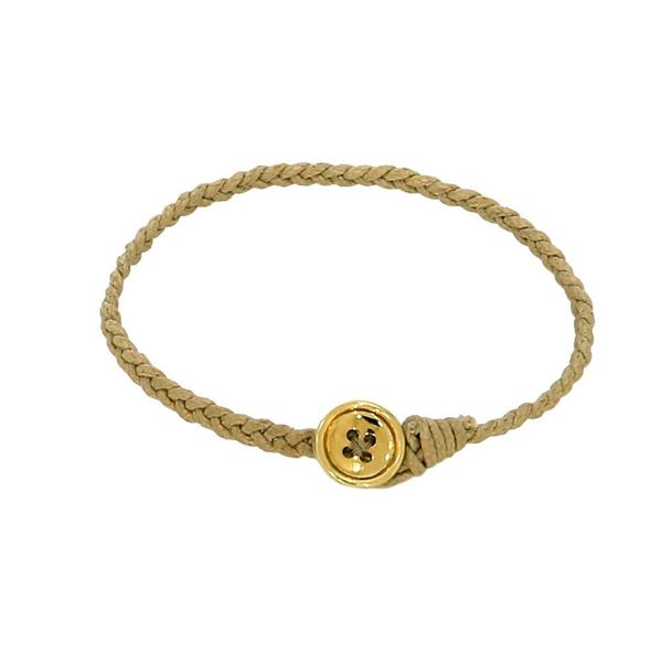 Picture of Yellow gold button bracelet