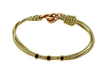 Picture of Rose Gold Bracelet and cotton