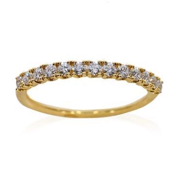 Изображение Half Eternity Wedding Bands .39 CT TW