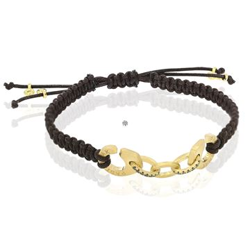 Picture of 18K Yellow Gold Handcuffs Bracelet