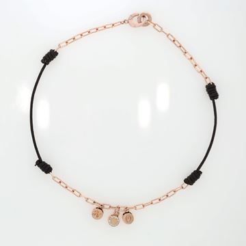 Picture of 18K Rose Gold And Cotton Choker